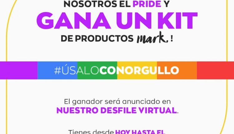 Concurso Avon Úsalo con Orgullo: Gana 1 de 5 kits de productos Mark