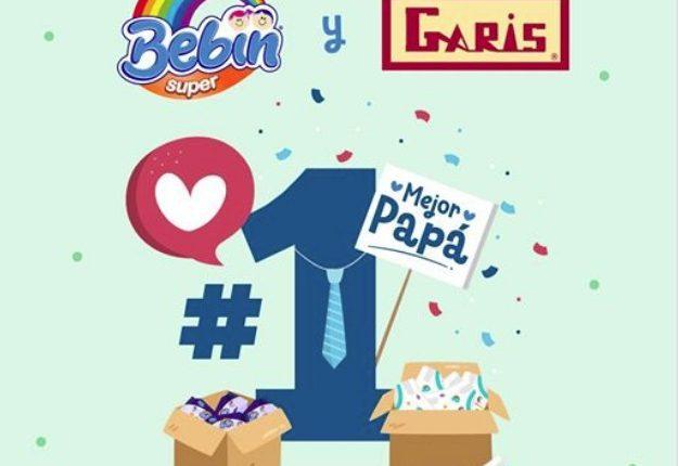 Concurso Quincena del Bebé Garis y Bebín: Gana un año de pañales gratis y más