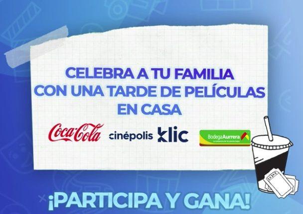Promoción Bodega Aurrerá y Coca-Cola: Gana códigos para Cinépolis Klic