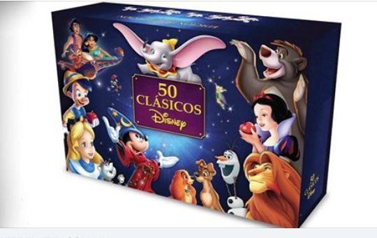 Concurso Cine Premiere: Gana edición de colección con 50 clásicos de Disney