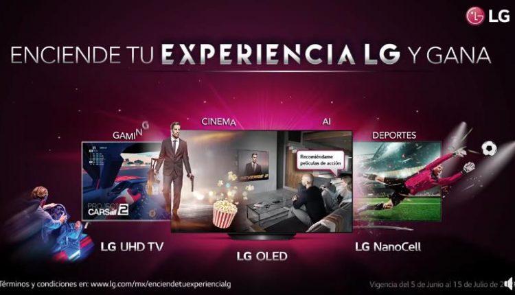 """Concurso Enciende tu experiencia LG 2020: Gana 1 de 20 Pantallas LG OLED de 55"""""""