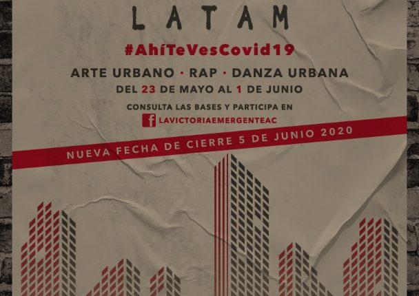Concurso de Culturas Urbanas Latinoamérica 2020: Gana premios de hasta $5,000 pesos