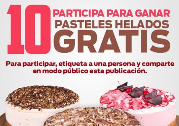 Concurso Pasteleria Lety y El Blog del Gordo: Gana 1 de 10 pasteles helados