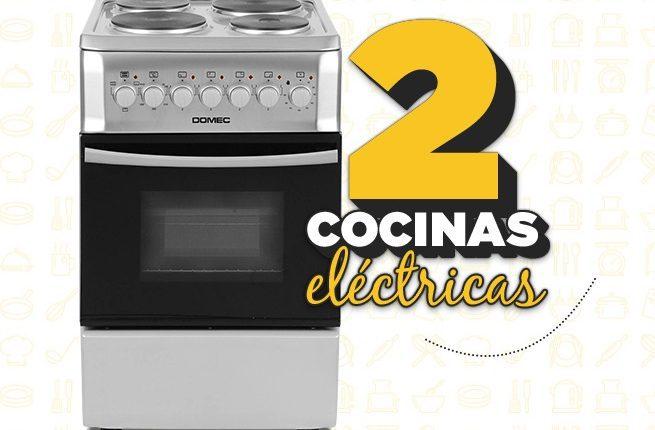 Concurso El Gourmet: Gana 1 de 2 cocinas eléctricas en elgourmet.club