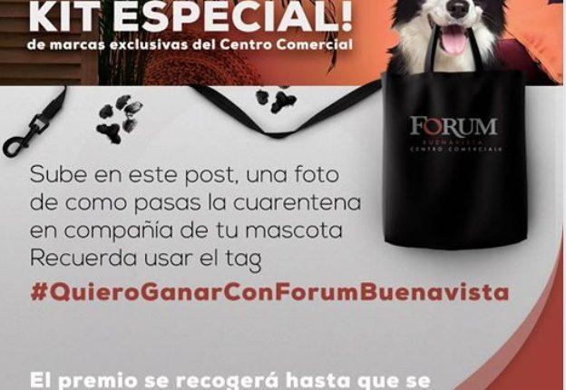 Concurso Forum Buenavista: Gana un kit especial de marcas del Centro Comercial