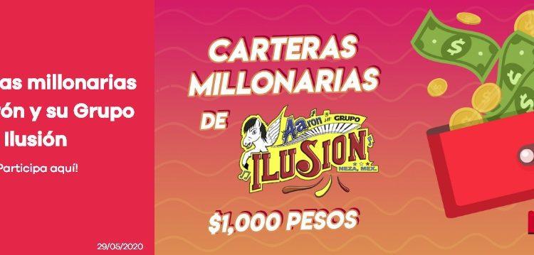 Concurso Día del Padre Ke Buena y Grupo Ilusión Carteras Millonarias: Gana $1,000 pesos todos los días