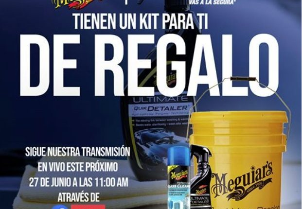 Concurso Meguiars y Autozone: Gana un kit de productos para tu auto Meguiars