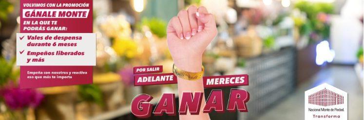 Promoción Monte de Piedad Gánale Monte 2020: Gana tu deuda cancelada, vales de despensa por 6 meses y más