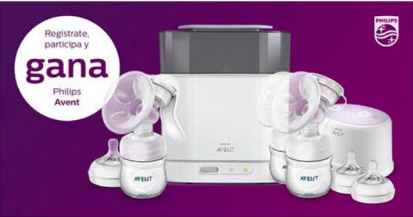 Concurso Philips Avent: Gana un kit de extracción de leche materna