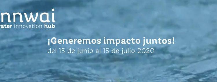 Concurso Innwai Water Innovation Hub Agua x Nosotros 2020: Gana hasta $45,000 dólares