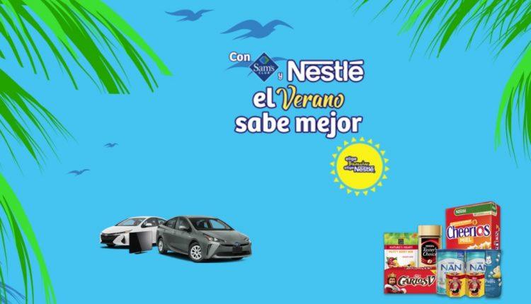 Promoción Sams Club Nestlé Verano 2020: Gana autos híbridos, pantallas, laptops y más en veranoeben2020.com