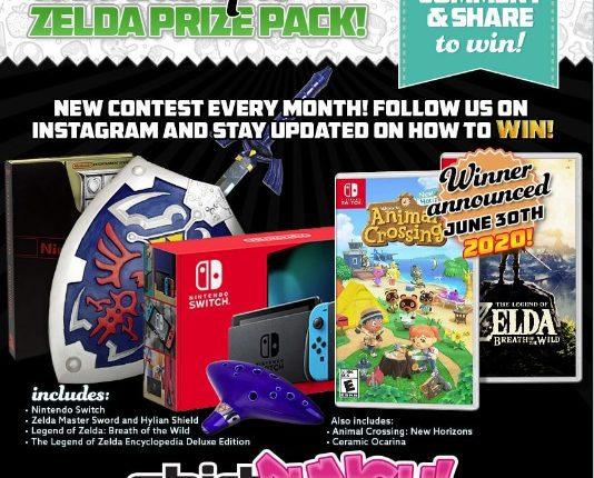 Giveaway Shirt Punch: Gana paquete de Zelda con un Nintedo Switch, juego Animal Crossing, Breath of the Wild y más