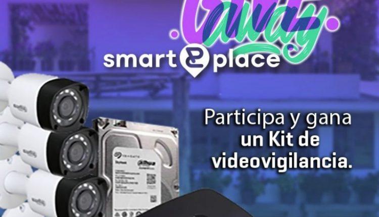 Sorteo Smart Place: Gana un kit de videovigilancia con 4 cámaras