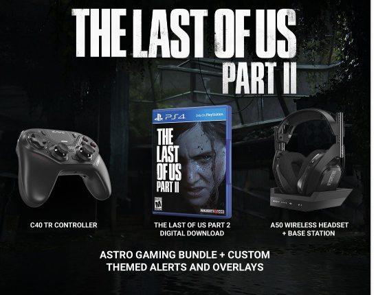 Giveaway Streamlabs: Gana un paquete de The Last of Us Part 2