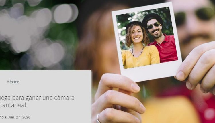 Gana una cámara instantánea en el concurso de Experiencias Telcel