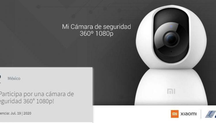 Concurso Xiaomi y Telcel: Gana una cámara de seguridad 360° 1080p