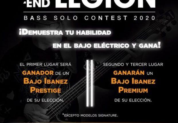 Concurso Ibanez Bass Solo Contest 2020: Gana un bajo eléctrico Ibanez Prestige y más