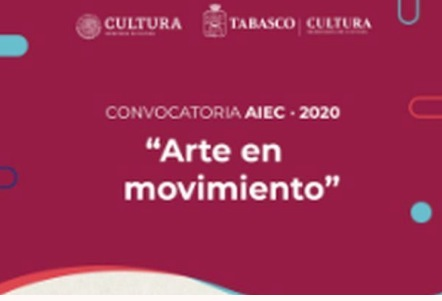 Convocatoria Arte en Movimiento 2020: Gana estímulos de hasta $25,000 pesos