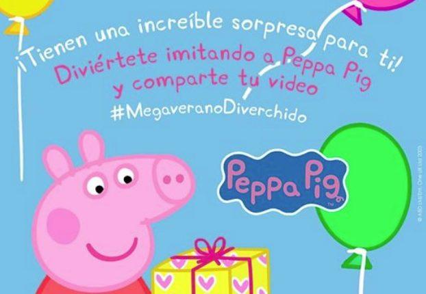 Concurso Canal 5 MegaVerano Peppa Pig: Gana un regalo sorpresa en megaverano.com