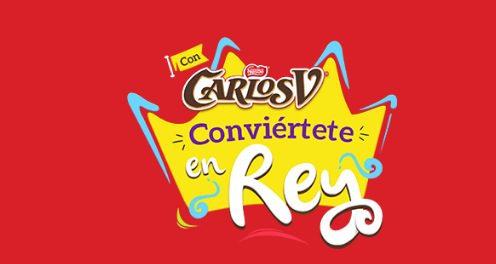 Promoción Carlos V Conviértete en Rey 2020: Ingresa tu lote y gana pantallas, consolas y más en www.carlosv.com.mx
