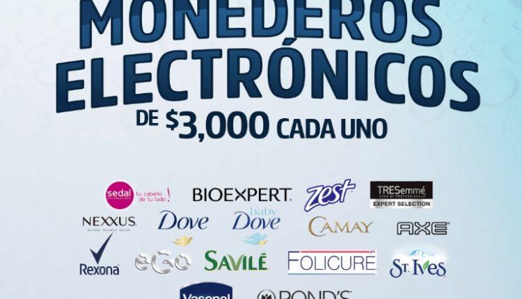 Promoción Casa Ley Unilever Cuida tu Economía: Gana 1 de 200 monederos electrónicos de $3,000 pesos