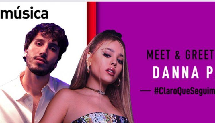 Gana una convivencia digital con Danna Paola en el concurso de Claro Música