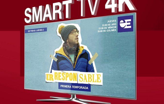 Concurso Europa Europa: Gana una pantalla Smart TV 4K