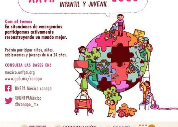 Concurso Nacional de Dibujo y Pintura Infantil y Juvenil Conapo: Gana reconocimientos