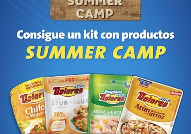 Concurso Atún Dolores: Gana 1 de 10 kits Summer Camp