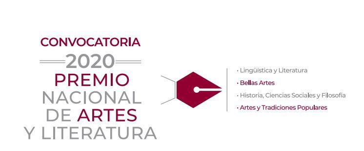 Premio Nacional de Artes y Literatura 2020 del FONCA: Gana medalla de oro y premio en efectivo