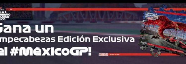 Concurso Fórmula 1 México GP 2020: Gana un rompecabezas edición especial