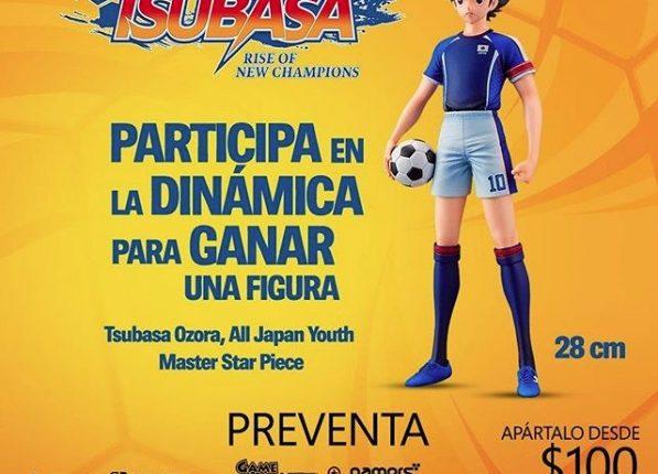 Concurso Game Planet Super Campeones: Gana una figura Captain Tsubasa de 28 cms de colección