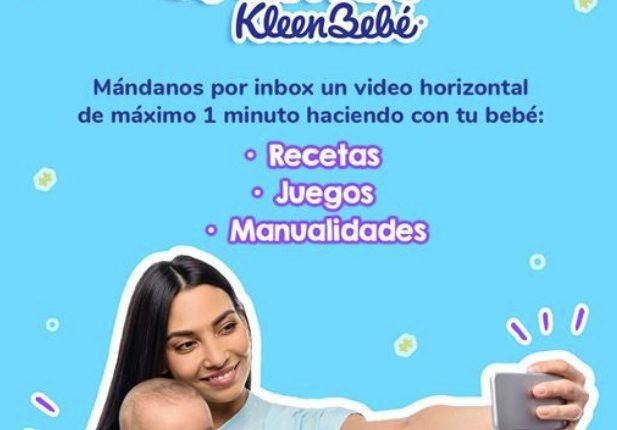 Concurso Mamás KleenBebé: gana convertirte en 1 de las 3 Mamás KleenBebé