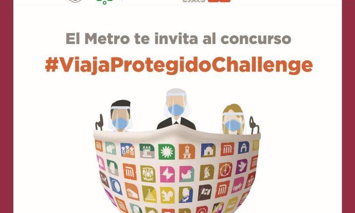 Concurso Metro CDMX #ViajaProtegidoChallenge: Gana 1 año de viajes gratis, pantallas y más