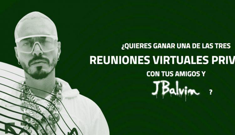 Concurso Oxxo Diageo: Gana reuniones virtuales con J. Balvin