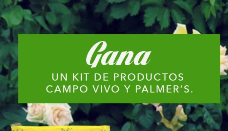 Concurso Mood de Verano Palmers y Campo Vivo: Gana un kit de hidratación y productos orgánicos