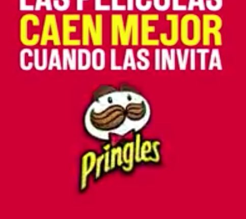 Promoción Pringles Cinépolis Klic: Gana códigos de rentas gratis en Cinépolis Klic