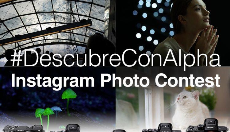 Concurso de Foto Sony #DescubreConAlpha 2020: Gana cámaras Sony α