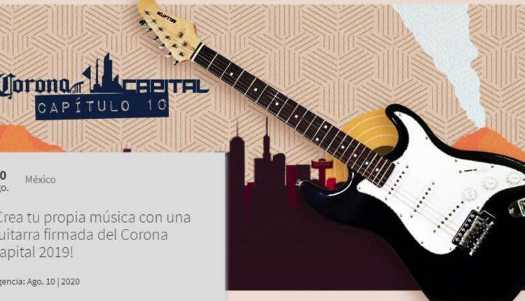 Gana una guitarra autografiada del Corona Capital 2019 con Telcel