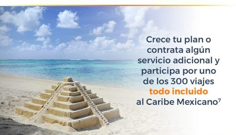Concurso Totalplay Conéctate con el Caribe Mexicano: Gana uno de los 150 viajes a Cancún