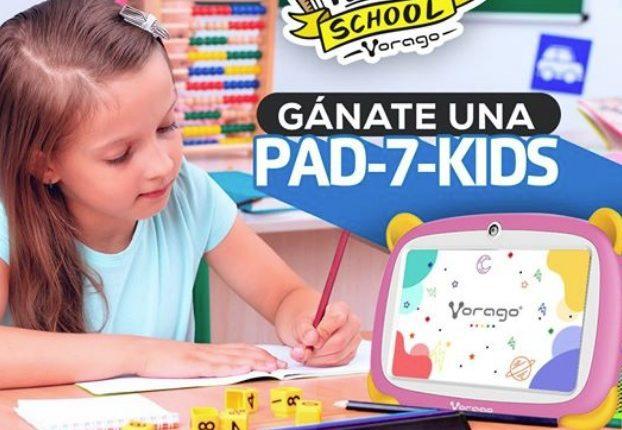Concurso Vorago Regreso a Clases: Gana una tablet PAD-7-KIDS