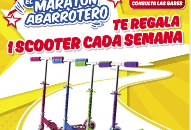 Concurso Maratón Abarrotero de El Zorro Abarrotero: gana un scooter cada semana