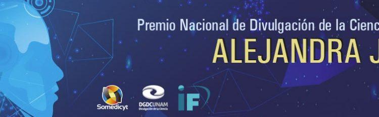 Premio Nacional de Divulgación de la Ciencia Alejandra Jaidar 2020: Gana $80,000 en efectivo