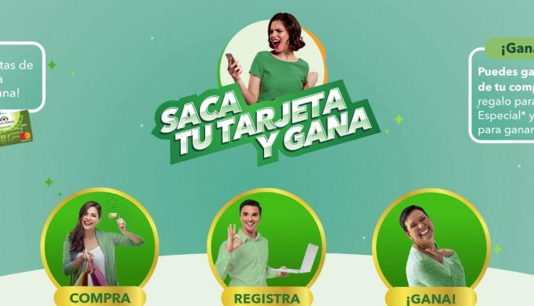 Promoción Banco Azteca Saca tu Tarjeta y Gana el 100% de tu compra y más en sacatutarjeta.com.mx