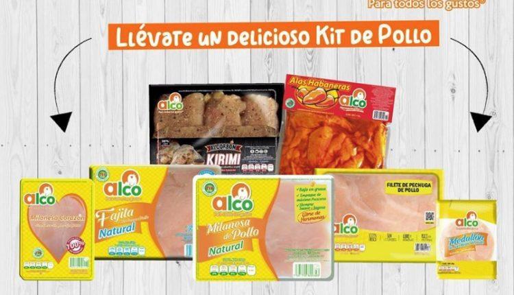 Gana un kit de productos de pollo Alco