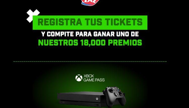 Promoción Dairy Queen Xbox 2020: registra tu ticket y gana uno de los 18,000 premios en datelavueltaconxbox.com