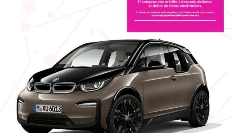 Concurso Electrónico Liverpool 2020: Gana un BMW i3 Mobility 2020 en sorteosyconcursos.liverpool.com.mx