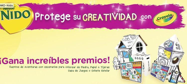 Promoción Nestlé Nido Crayola y Farmacias del Ahorro: Gana cuentos de aventuras con escenografía