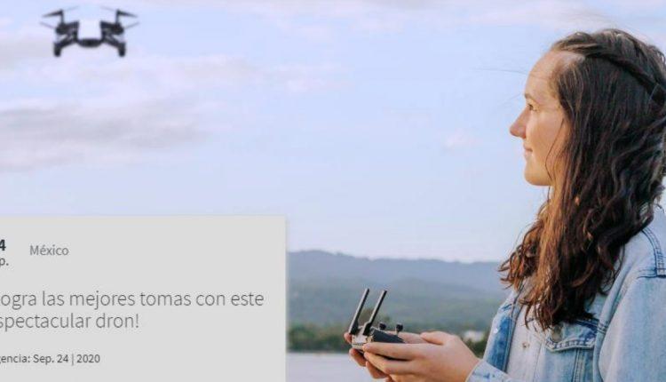 Gánate un dron en el nuevo concurso de Telcel