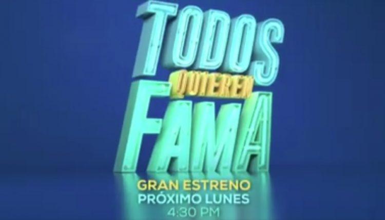 Concurso TV Azteca 7 Todos Quieren Fama: Gana $20,000 cada lunes en todosquierenfama.tv